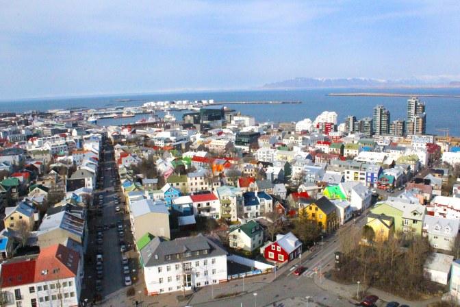 Rooftops of Reykjavik, Iceland