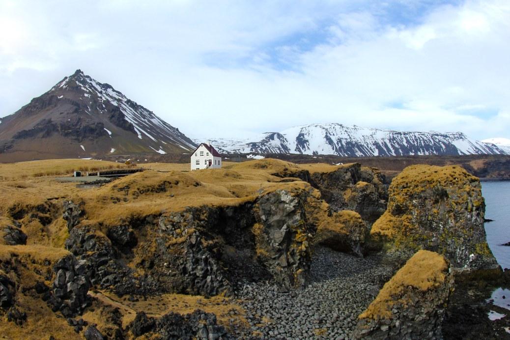 Dream home near Arnastapi, Snæfellsnes Peninsula.