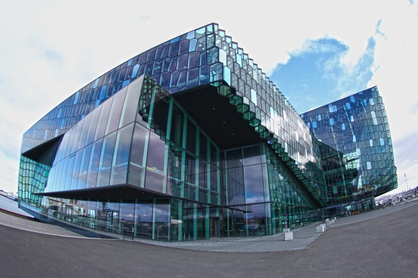 Harpa is an architectural wonder, winning a prize for its design a few years ago.