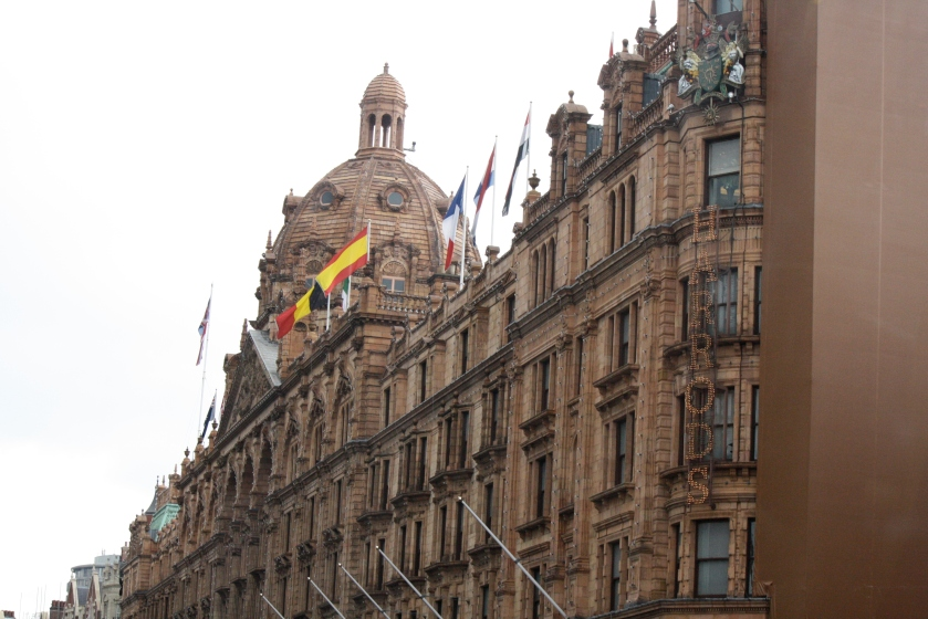 Harrod's, London's premiere department store.