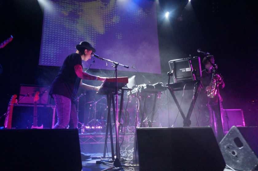 Vök performing at Gamla Bío
