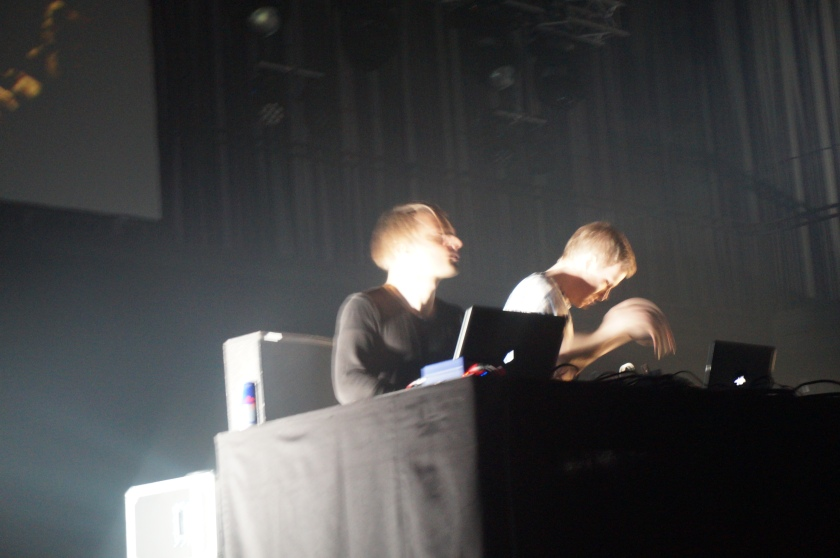 Olafur and Janus were bobbing their head too much for me to get a clear picture.