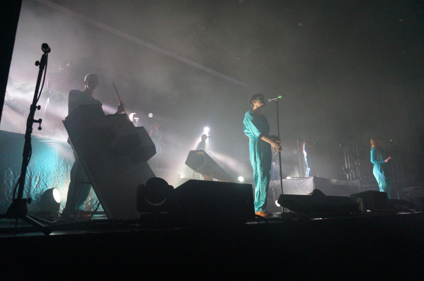 "The Knife opened with ""Wrap Your Arms Around Me"" but neither of the band's lead singers were front and centre."