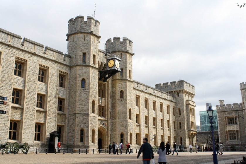 The White Tower, the oldest part of the site dating back to 1078 AD.