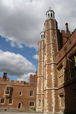 Eton College, taken from the courtyard.