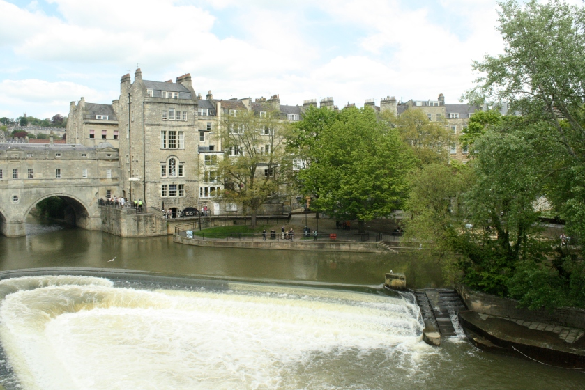 Pulteney Bridge and beautiful Bath.
