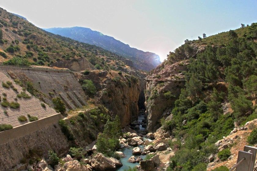 The gorgeous El Chorro valley.