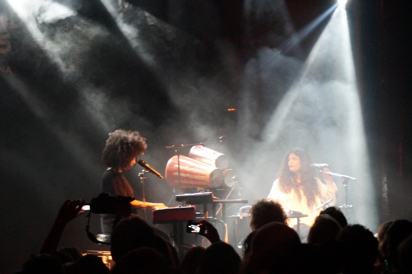 Ibeyi at the Apollo Venue.