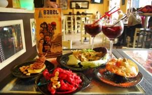 A sampling of the international tapas at Babel (photo credit: visionsofjoanna.com)