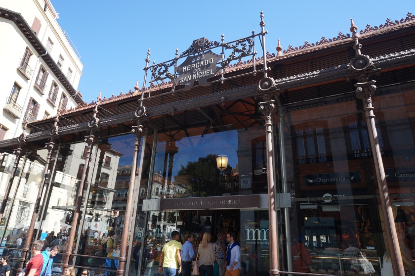 Exterior of the Mercado de San Miguel
