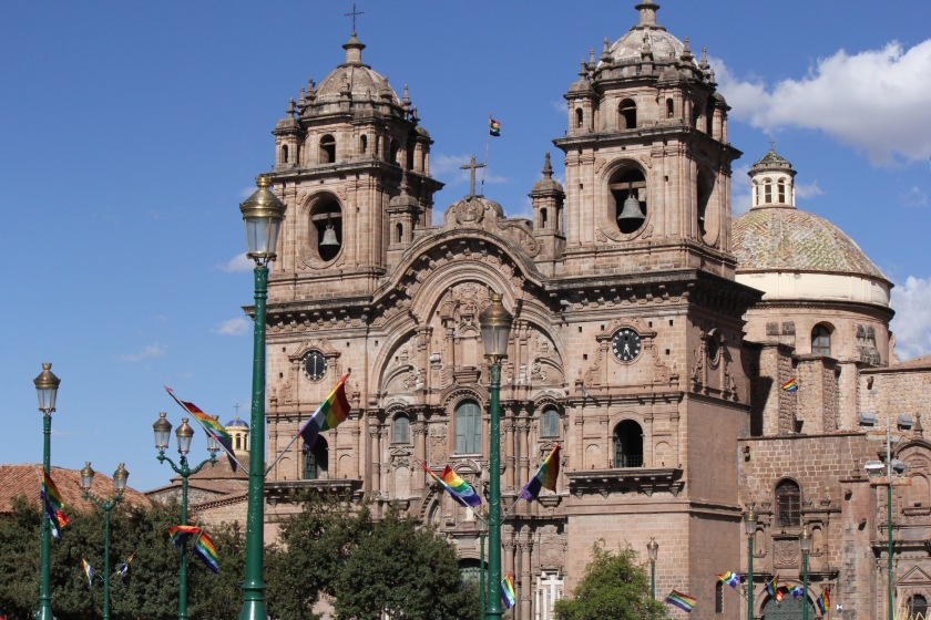 The Cusco Cathedral on the Plaza de Armas