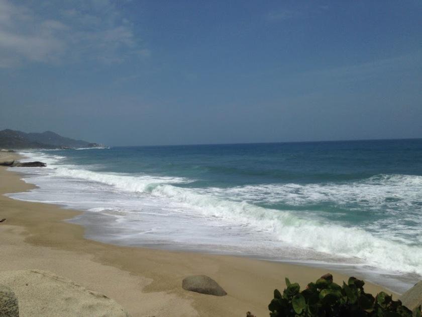 The beautiful (but dangerous) Arrecifes Beach.